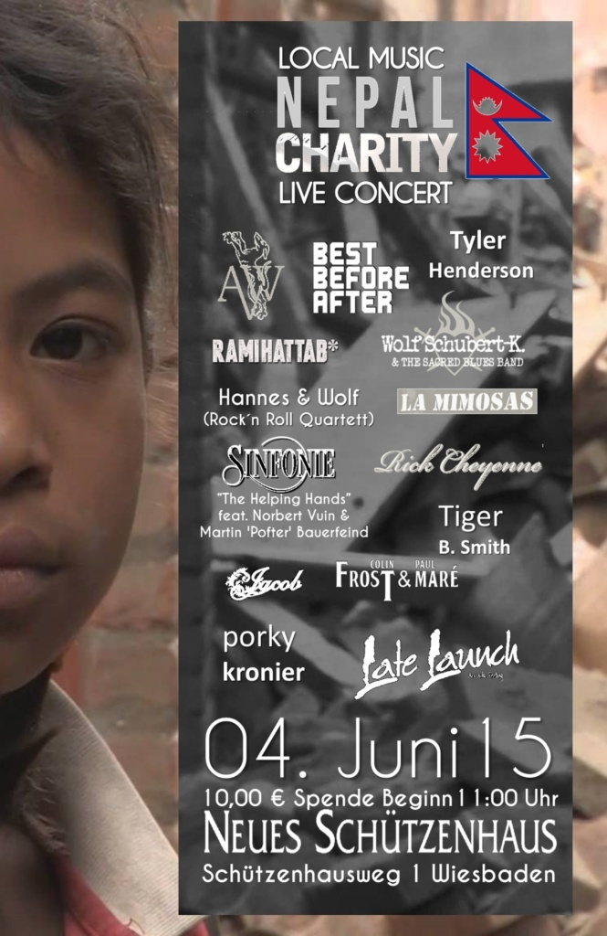 BAND JACOB beim LOCAL MUSIC Nepal Charity 2015 in Wiesbaden