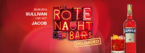 BAND JACOB bei der Roten Nacht der Bars von Campari im Sullivan Frankfurt a. M.